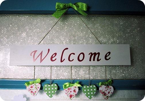 Willkommen zu hause heldenhaushalt for Dekoladen depot