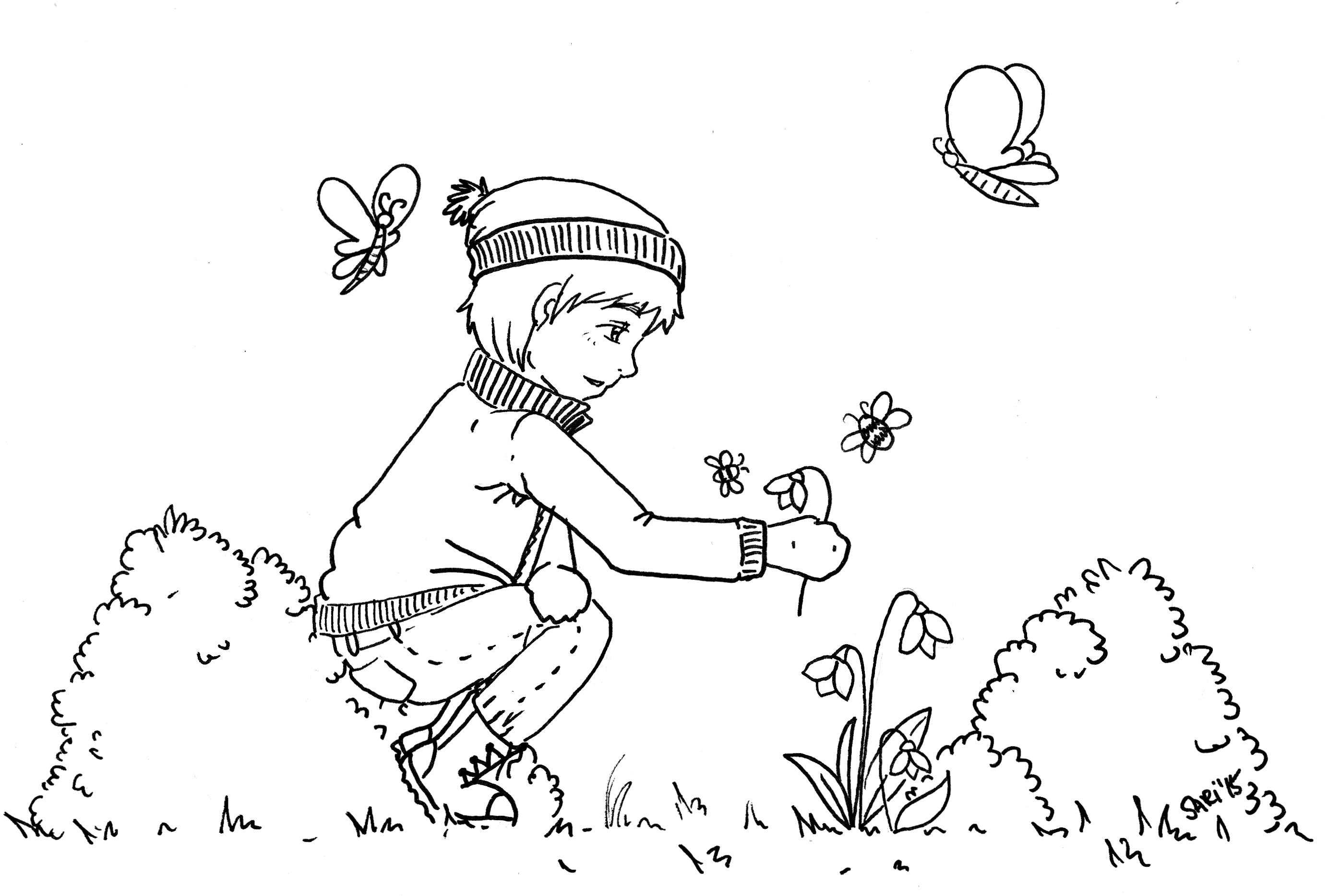 Ausmalbilder - Printables für große und kleine Künstler ...